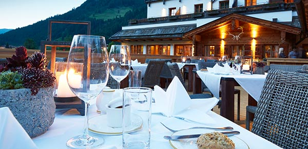 FOOD & WINE at the Small Luxury Hotel of the World in SalzburgerLand
