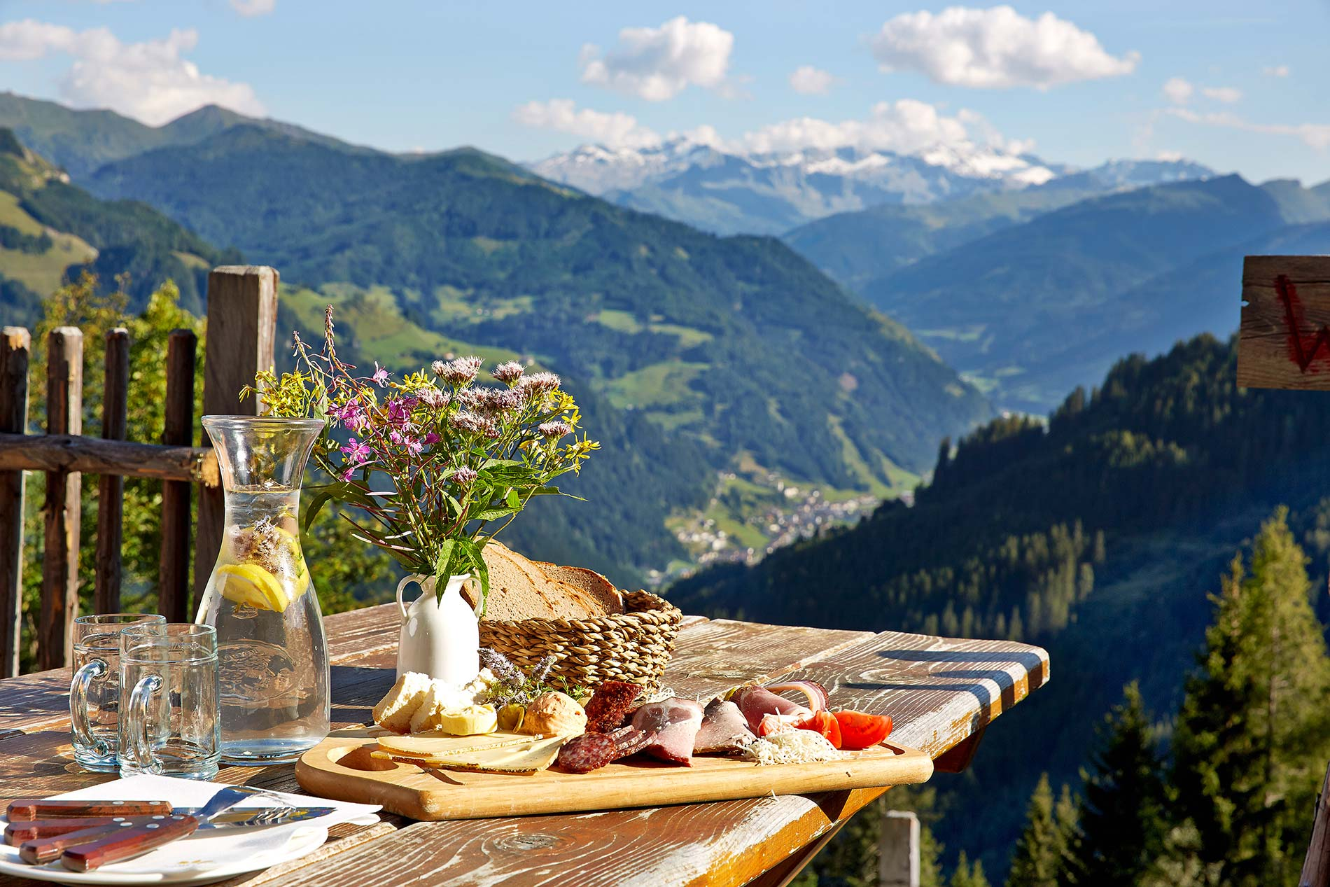 Romantic holiday in Austria - The Mooslehenalm Alpine lodge