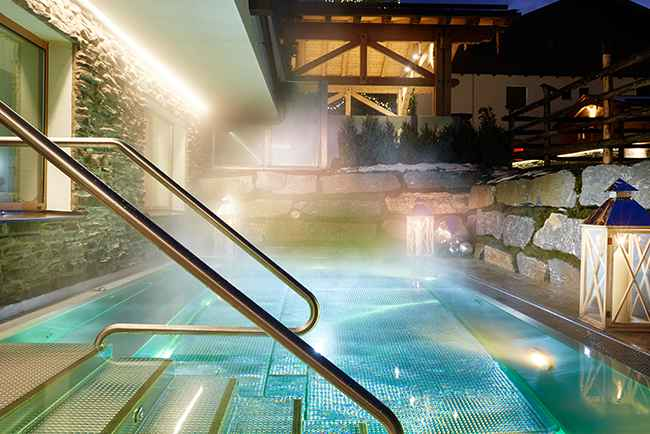 ERLENREICH RELAX & SPA at the 4-star superior Small Luxury Hotel GROSSARLER HOF in the Grossarl Valley SalzburgerLand Austria